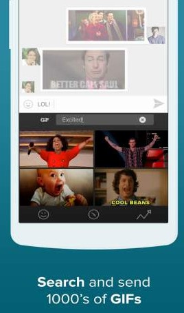Fleksy + GIF Keyboard 9.8.6 Apk for android