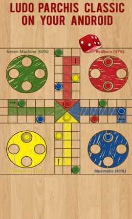Ludo Parchis Classic Woodboard 43.0 Apk + Mod (Adfree)