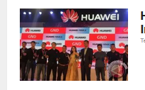 Huawei incar posisi ketiga di Indonesia